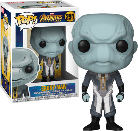 Ebony Maw Funko Pop! Marvel Vinyl Figure || Эбони Мо