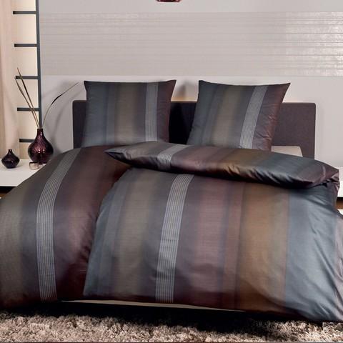 Постельное белье 2 спальное евро Janine Messina 4749 kupfer-bronze-graphit
