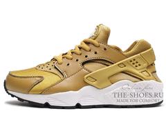 Кроссовки Женские Nike Air Huarache ES Gold White