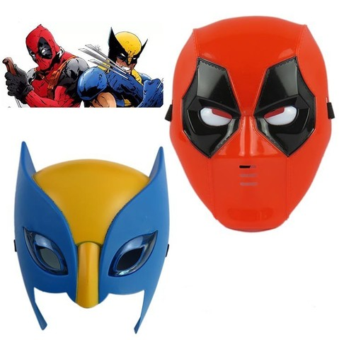 Deadpool and Wolverine Light Mask