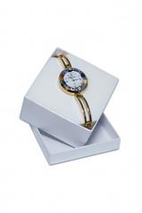 Женские золотистые наручные часы