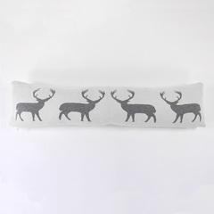 Подушка-валик с орнаментом Deer, 20х80 см EnjoyMe