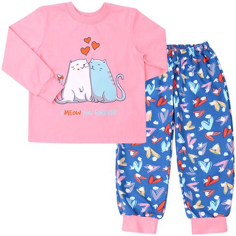 ПЖ42 Пижама для девочки байка (новый принт)