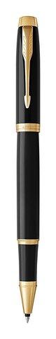 Набор с гравировкой: Ежедневник и Ручка-роллер Parker IM, цвет: Black GT123