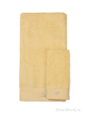 Набор полотенец 5 шт Blumarine Crociera желтый