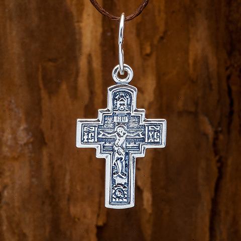 Крестик православный . Распятие. Апостол Андрей.
