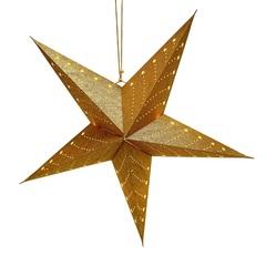 Светильник подвесной Star с кабелем 3,5 м и патроном под лампочку E14, 60 см., золотой EnjoyMe