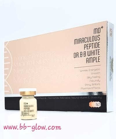 BB сыворотка MD+ Miraculous Peptide тон 21 (1 ампула 5 мл.)