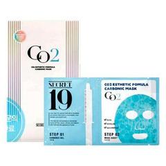 Estetic House CO2 Esthetic Formula Carbonic Mask - Маска и гель-активатор Карбокситерапия (пауч)