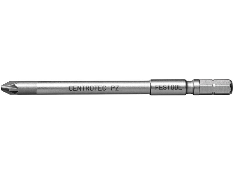 Бит Pozidriv удлинённая PZ1 комплект из 2шт PZ 1-100 Centro/2x Festool 500841