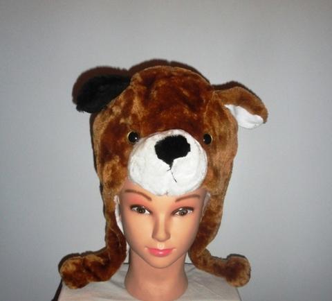 Шапочка с медведем