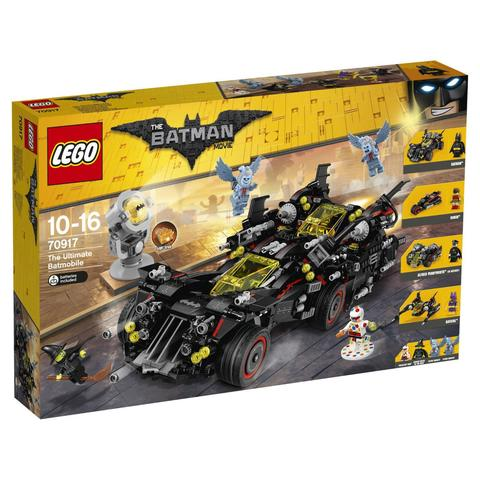 LEGO Batman Movie: Крутой бэтмобиль 70917 — The Ultimate Batmobile — Бэтмен муви фильм