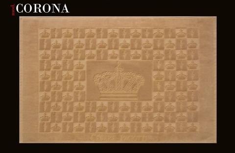 Коврик для ванной 70х120 Cesare Paciotti Corona коричневый