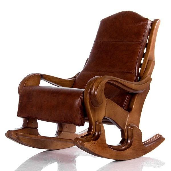 Классические Кресло-качалка Классика (Светлый Орех) 006.001.jpg