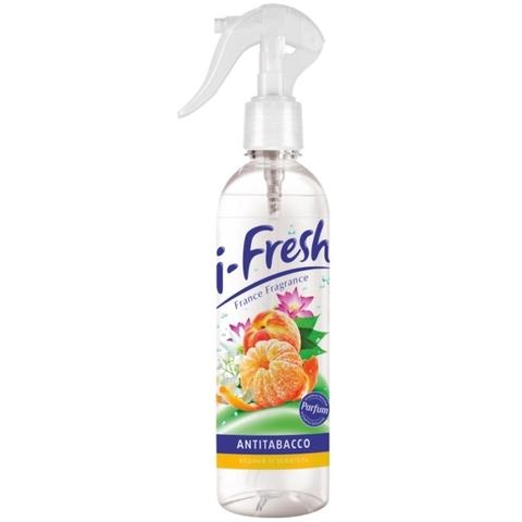 Фабрика Ромакс i-Fresh Водный освежитель воздуха Антитабак 345мл