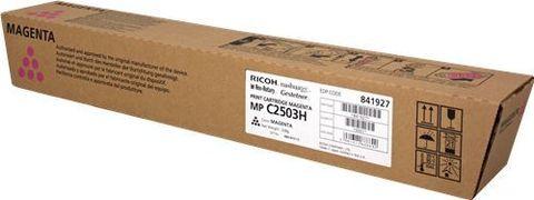 Тонер-картридж большой емкости Ricoh тип MPC2503H пурпурный для Ricoh MP C2011, C2003, C2503 C2004, C2504. Ресурс 9500 стр. (841927)