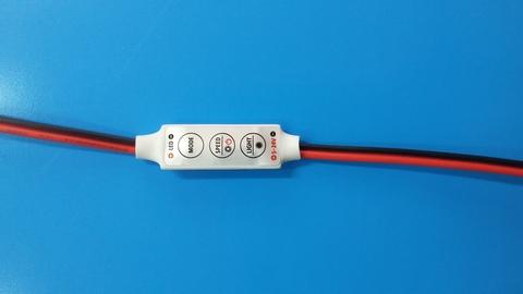 Контроллер одноцветный 12V. 72W. 6A на проводе