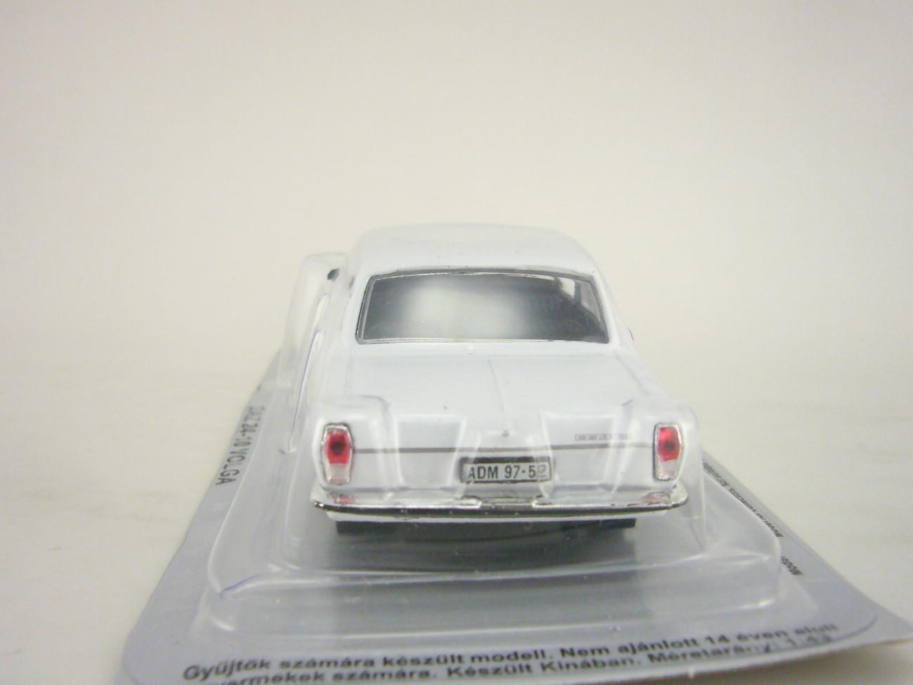GAZ-24-10 Volga white 1:43 DeAgostini Kultowe Auta PRL-u