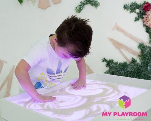 Планшет для рисования песком Myplayroom + ножки 8