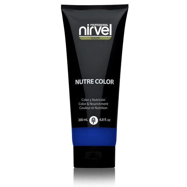 Гель-маска питательная Ультрамарин Nirvel Nutre Color Klein Blue 200мл