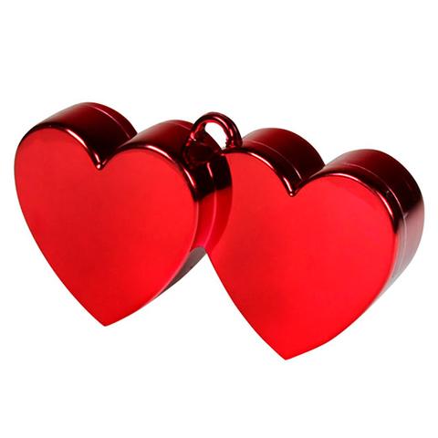 Декоративный грузик для воздушных шаров Сердца