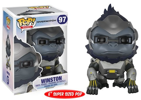 Super Sized Pop! Overwatch - Winston 6