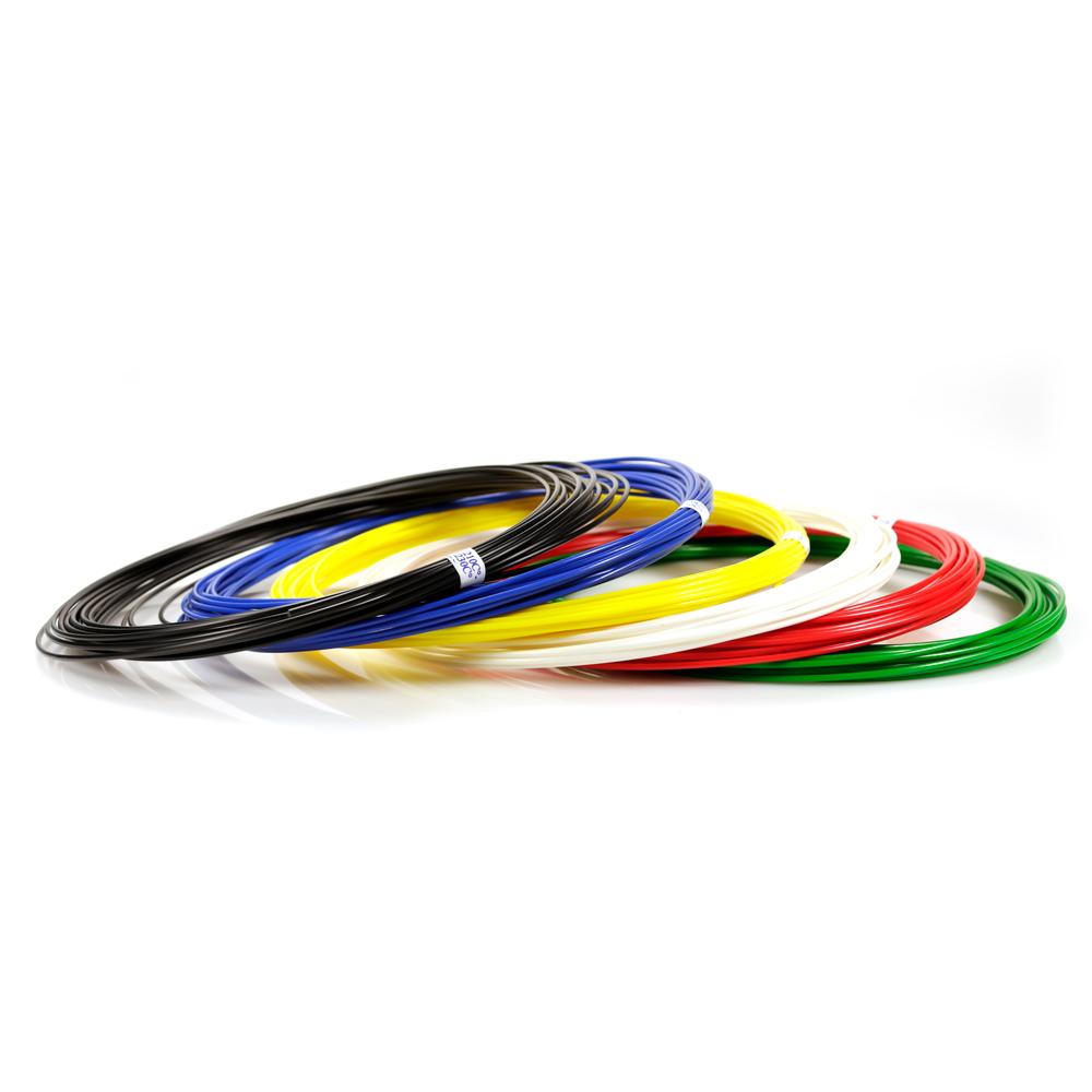 Набор пластика ABS 6 цветов