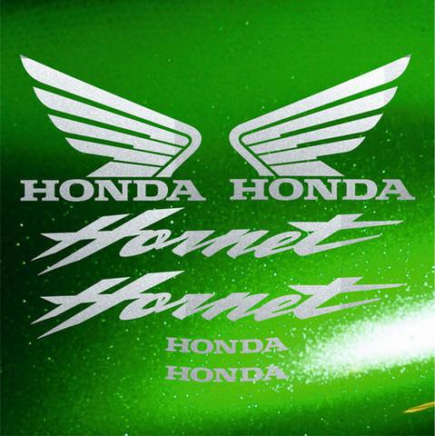 Набор виниловых наклеек на мотоцикл HONDA CB600F HORNET 2005