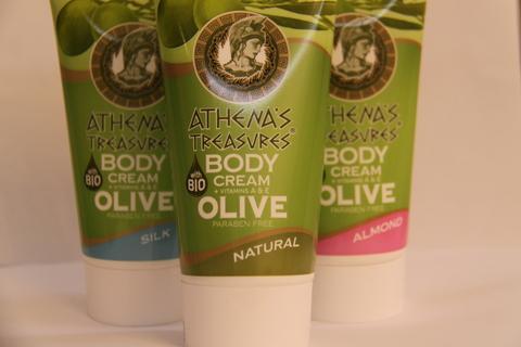 Греческая оливковая косметика ATHENAS TREASURES