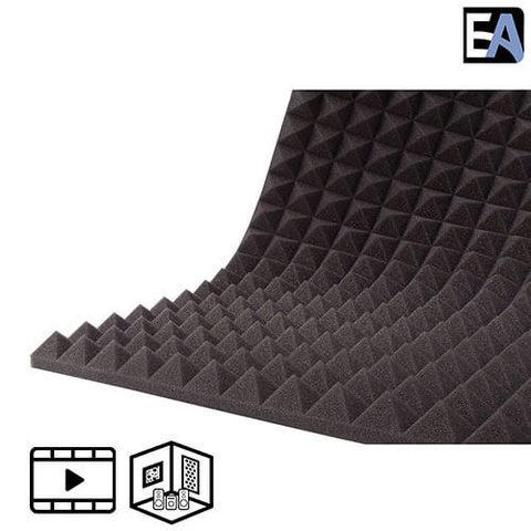 ECHO BLACK Акустический поролон Piramida 30 Чёрный