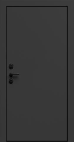 Входная дверь «Linea 1» в цвете, Эмаль грэй
