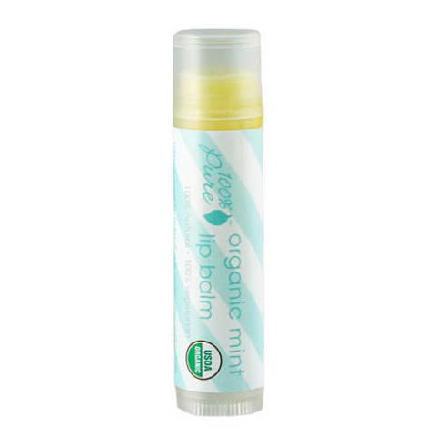 Бальзам для губ Мята (USDA Organic) 100% Pure