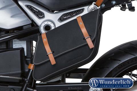 Сумка на раму (левосторонняя) BMW R NineT черный