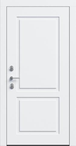 Входная дверь «NEO Classic 2» в цвете, Эмаль белая