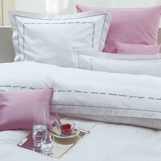 Пододеяльник 200х220 Christian Fischbacher Luxury Nights Sweet Dreams 557 розовый