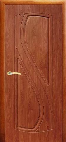 Дверь Сибирь Профиль Рада, цвет итальянский орех, глухая
