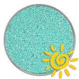 Кварцевый песок (для рисования), бирюзовый 1