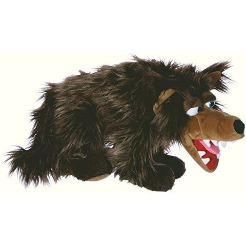 Living puppets. Мягкая игрушка на руку Волк