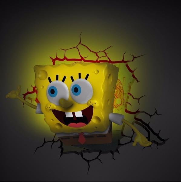 Губка Боб 3D-светильник SpongeBob
