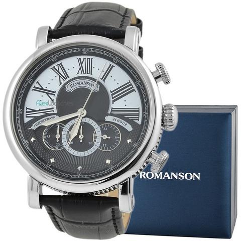 Купить Наручные часы  Romanson TL9220BMWBK по доступной цене