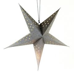 Светильник подвесной Star с кабелем 3,5 м и патроном под лампочку E14, 60 см., серебристый EnjoyMe