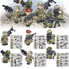 Минифигурки Военных Спецназ Альфа серия 299