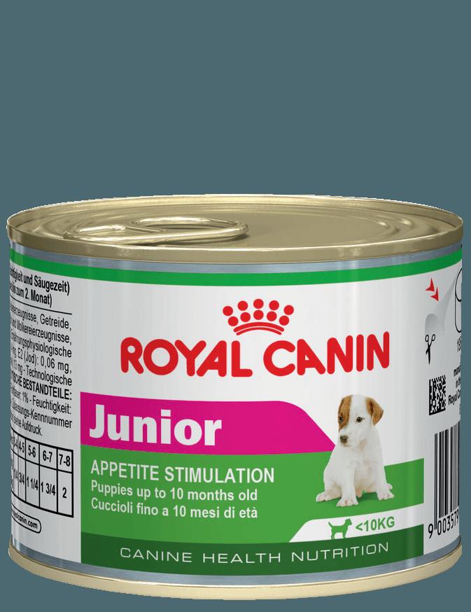 Royal Canin Консервы для щенков, Royal Canin Junior 777002.png