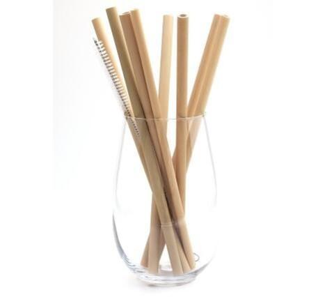 Бамбуковая трубочка для напитков