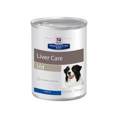 Hill's Prescription Diet l/d Liver Care влажный диетический корм для собак при заболеваниях печени, 370 г