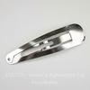 Основа для заколки клик-клак, 88х23 мм (цвет - античное серебро)