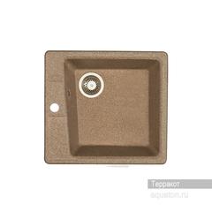 Мойка Акватон Парма 1A713032PM270 для кухни из искусственного камня, терракотовая