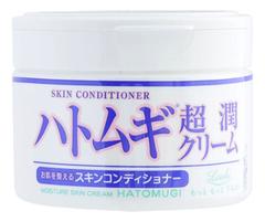 Крем для лица и тела Moisture Skin Cream Hatomugi 220г