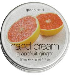 Крем для рук грейпфрут-имбирь, Greenland