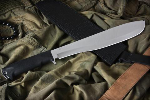 Охотничий нож Кайман Полированный Эластрон